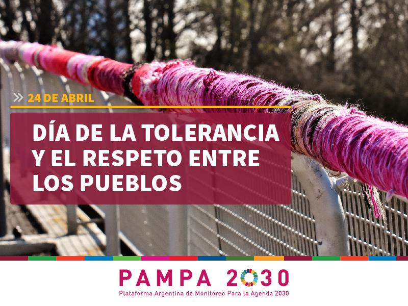 Día de la tolerancia y el respeto entre los pueblos