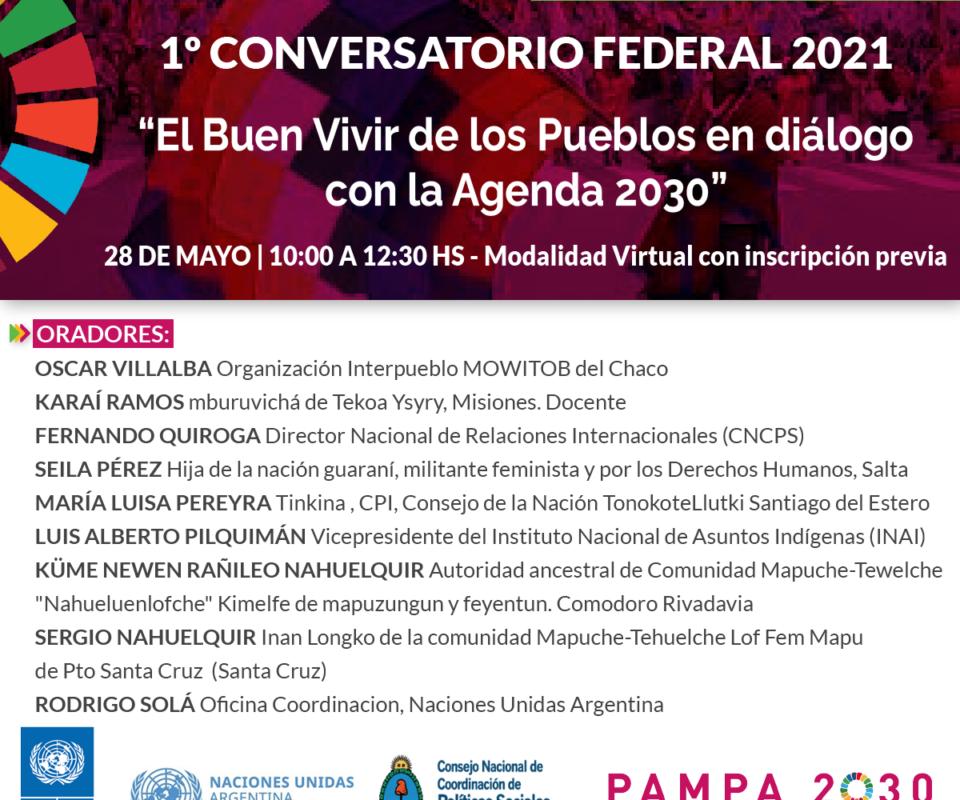 1º Conversatorio Federal 2021